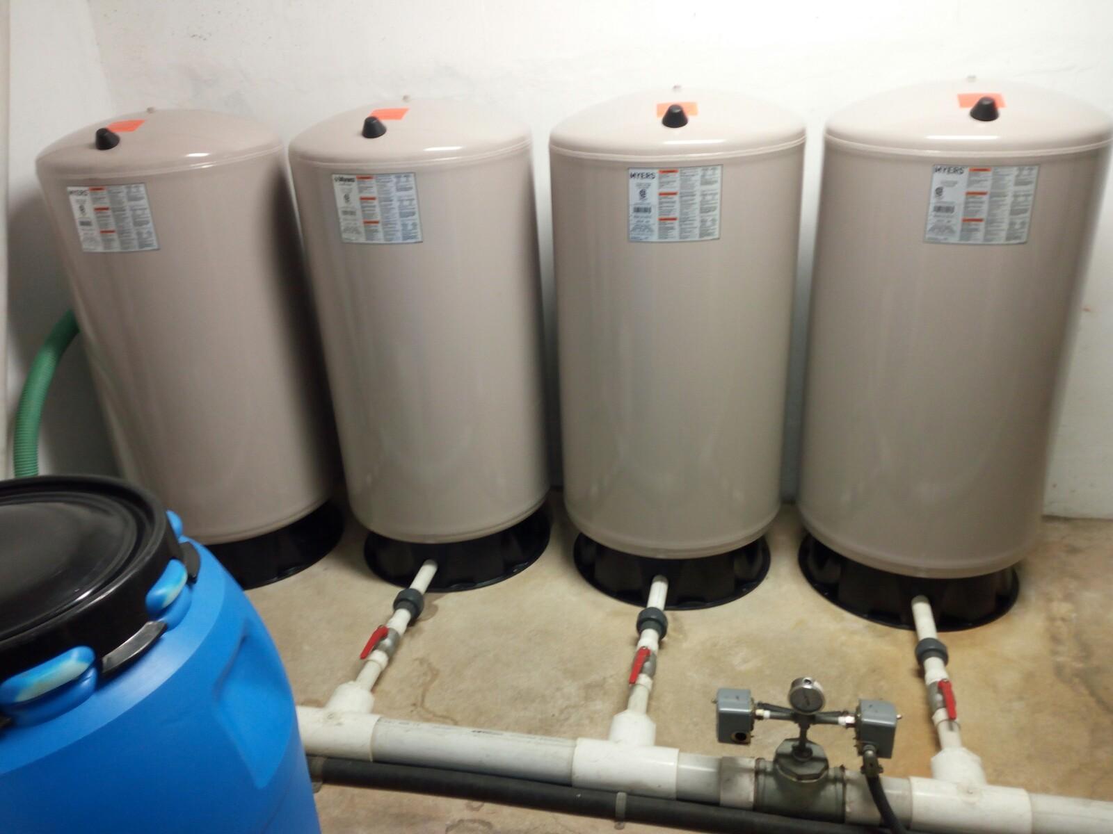 Mantenimiento tanques hidroneumaticos